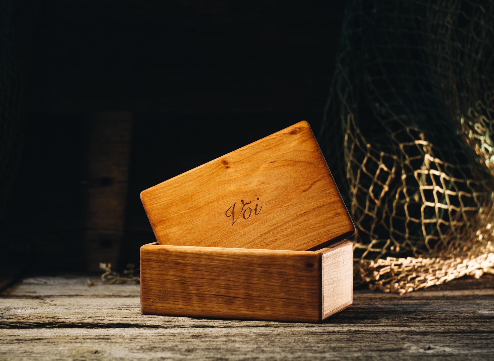 Butter box (alder)