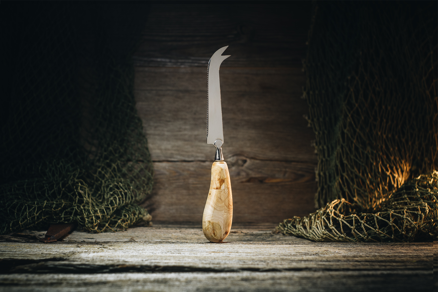 Juustunuga (kadakas)/ Cheese knife (juniper)