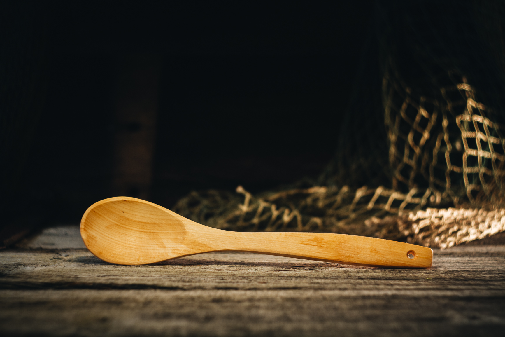 Pudrulusikas (lepp)/ Porridge spoon (alder)