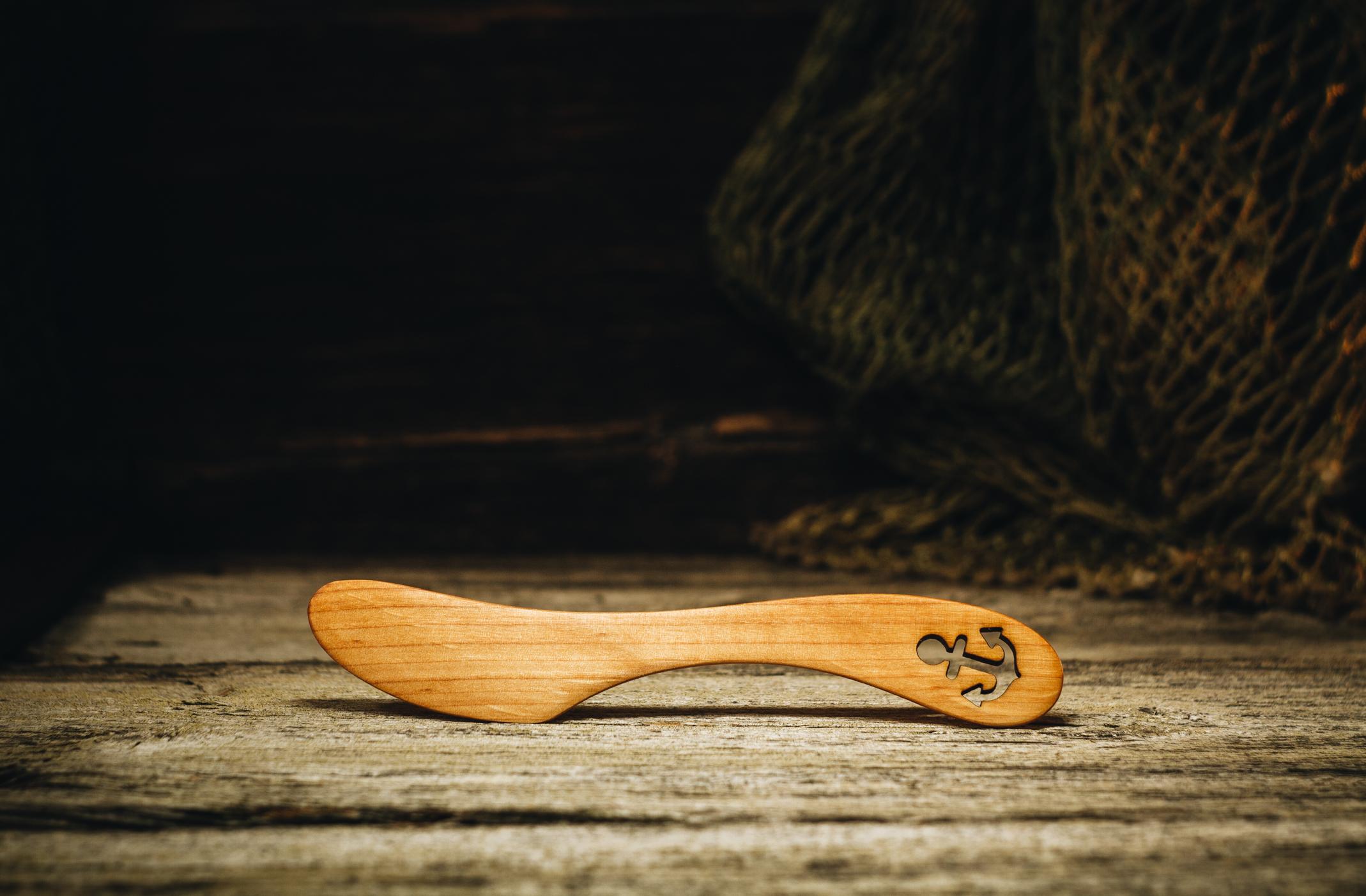 """Butter knife """"Anchor""""(alder)"""